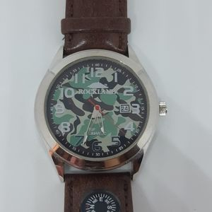 Rockland Camouflage Watch with compass